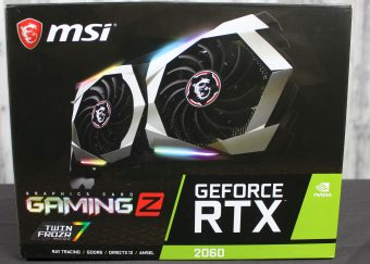 MSI GeForce RTX 2060 Gaming Z - MSI Brings The Heat For The